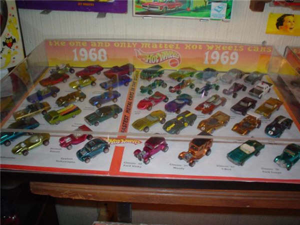 Hot Wheels Red lines 1968 - 1969